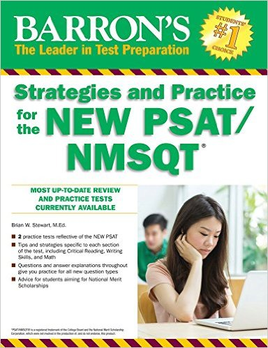 Barron's Strategies And Practice For The New PSAT